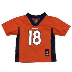 NFL Denver Broncos Manning 18 Jersey T-Shirt 24 Months